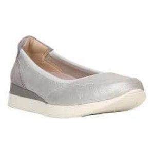 The Naturalizer Junction Sporty silver sneaker